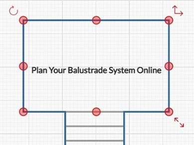 Plan your balustrade system online